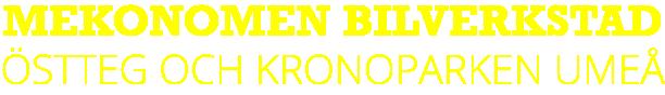 Mekonomen Umeå logotyp